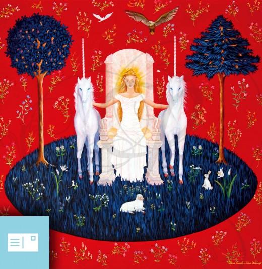 LA DAME A LA LICORNE - LA DAME ILLUMINEE - 01