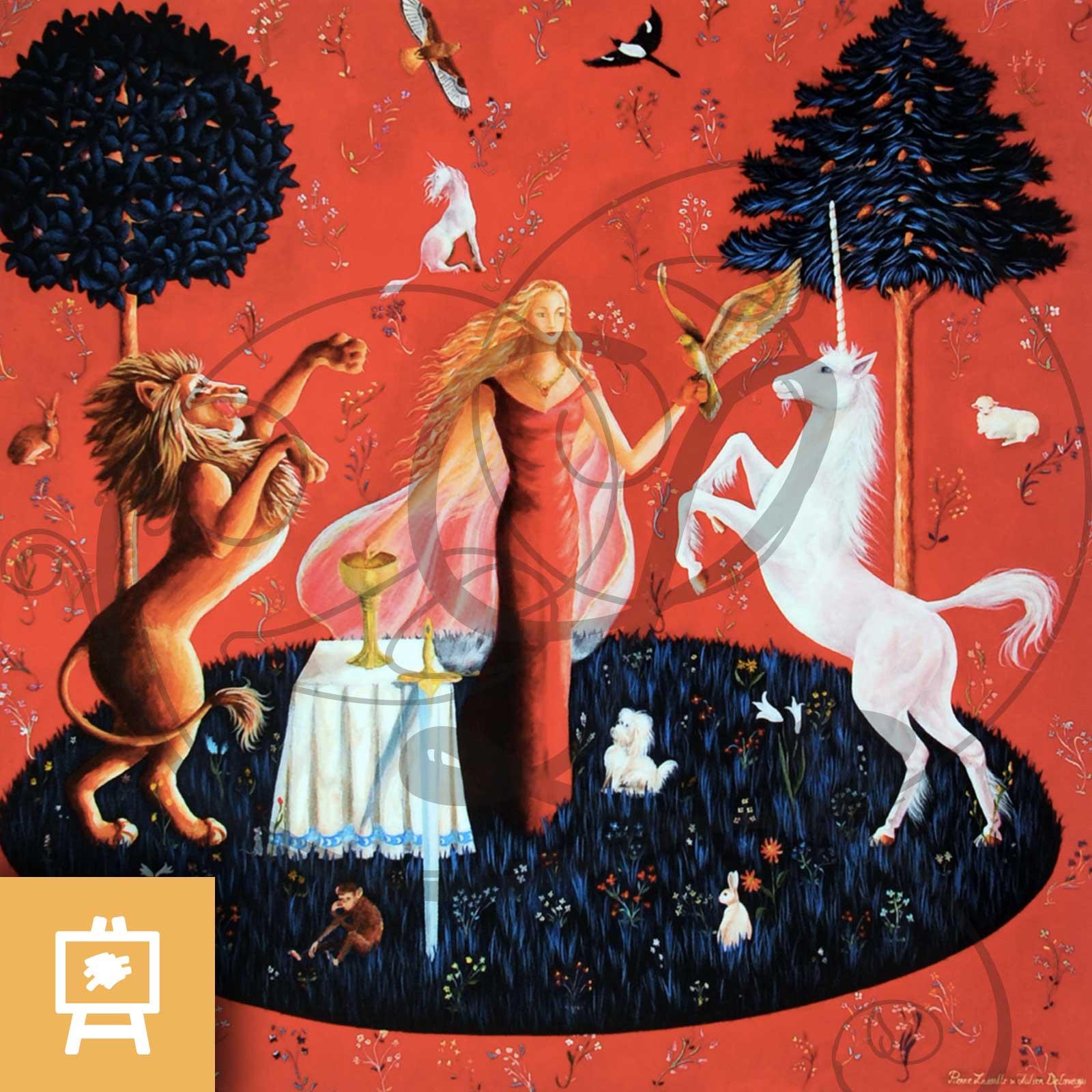 reproduction-sur-toile-gout-sens-dame-a-la-licorne-legendart