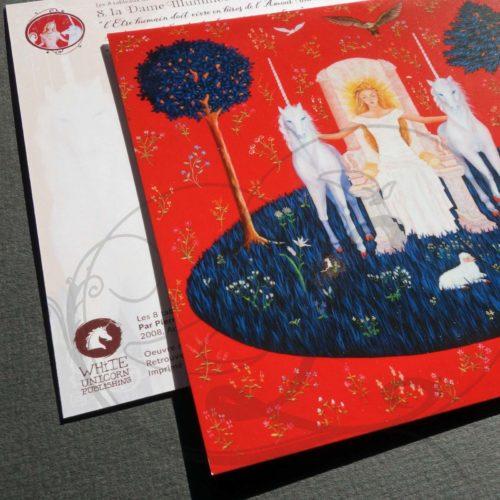 LA DAME A LA LICORNE - LA DAME ILLUMINEE - 03