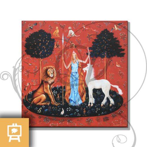 reproduction-sur-toile-toucher-sens-dame-a-la-licorne-legendart