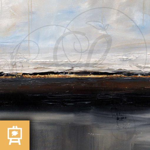 peinture-julien-delanssays-cimmerie-ulysse-odyssée