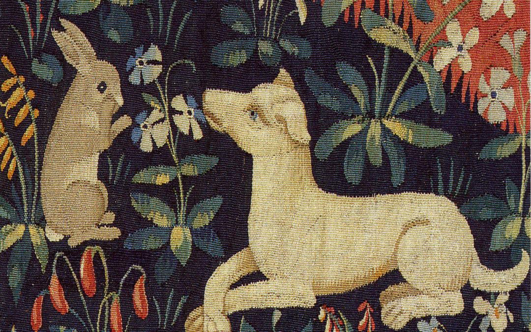 La Symbolique de la Dame à la Licorne : Le chien